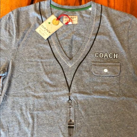 9c9f1bb01b1 Gant Shirts | By Michael Bastian Coaches Tshirt | Poshmark
